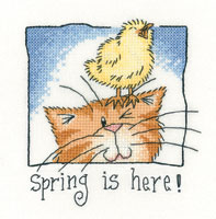 Spring is Here! cross stitch