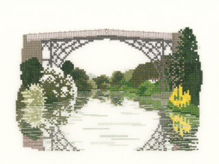 Ironbridge cross stitch kit