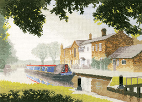 The Junction - Canal cross stitch
