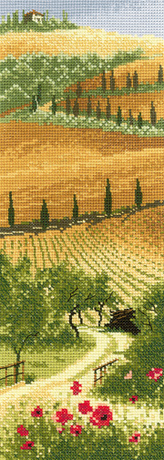 Tuscany in cross stitch