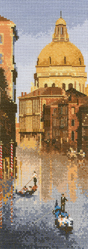 Venice in counted cross stitch