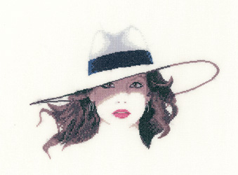 Roxy cross stitch by John Clayton