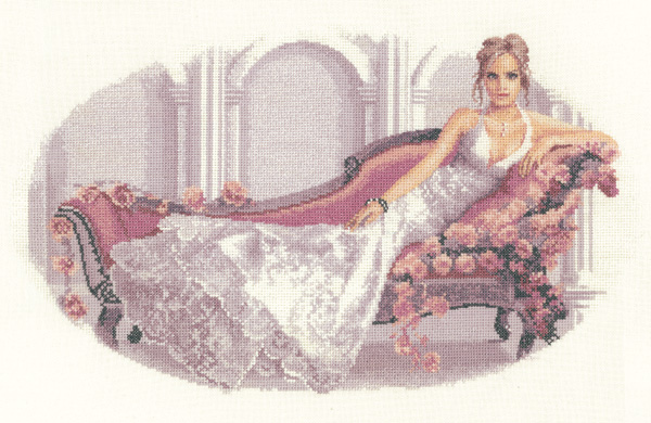 Abbi cross stitch by John Clayton