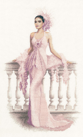 Gabriella cross stitch by John Clayton