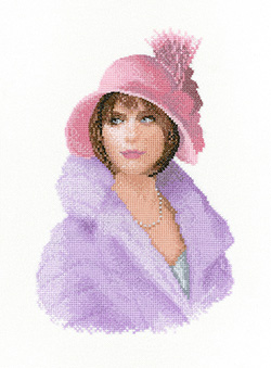 Harriet cross stitch by John Clayton