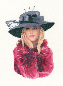 Stephanie cross stitch by John Clayton