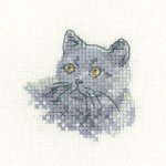 Cross stitch British Blue