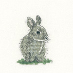 Cross stitch Baby Rabbit