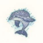 Cross stitch Dolphin