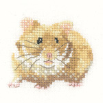 Cross stitch hamster