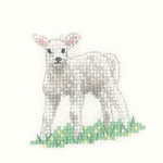 Cross stitch lamb