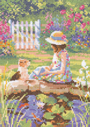 Cross stitch Reading Lesson