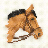 Cross stitch pony