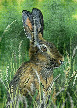 Cross stitch Hare
