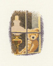 Cross stitch William in the Window