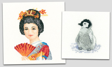 New cross stitch designs from Heritage Crafts
