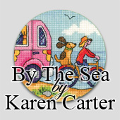 Cross stitch seaside designs by Karen Carter