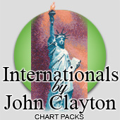 Internationals in cross stitch by John Clayton