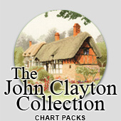 John Clayton Collection cross stitch charts