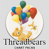 Teddy bear  cross stitch charts