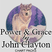 Power and Grace cross stitch charts by John Clayton
