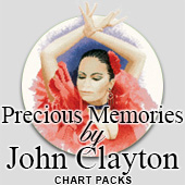 John Clayton Precious Memories cross stitch charts