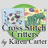 Cross stitch critters by Karen Carter