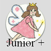 Juniors Plus - cross stitch kits for children and beginners