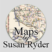 Counted cross stitch maps