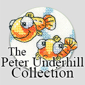 Cross Stitch by Peter Underhill