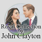 Royal wedding cross stitch by John Clayton