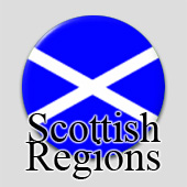 Counted cross stitch maps - Scottish Regions