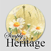 Simply Heritage floral cross stitch designs