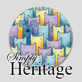 Simply Heritage cat cross stitch designs - whole stitches only!