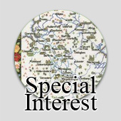 Special interest counted cross stitch maps