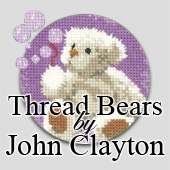 Heritage Crafts cross stitch teddy bear kits