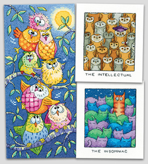 New cross stitch kits