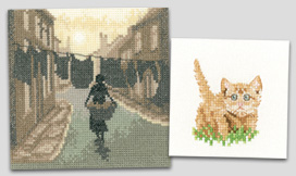 New Heritage Crafts cross stitch kits