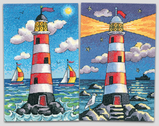 New cross stitch lighthouses from Karen Carter